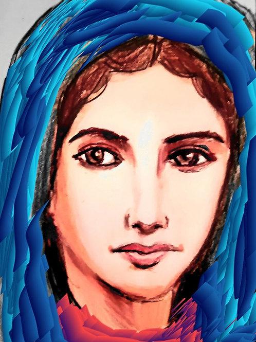 Our Lady Blue Veil 2