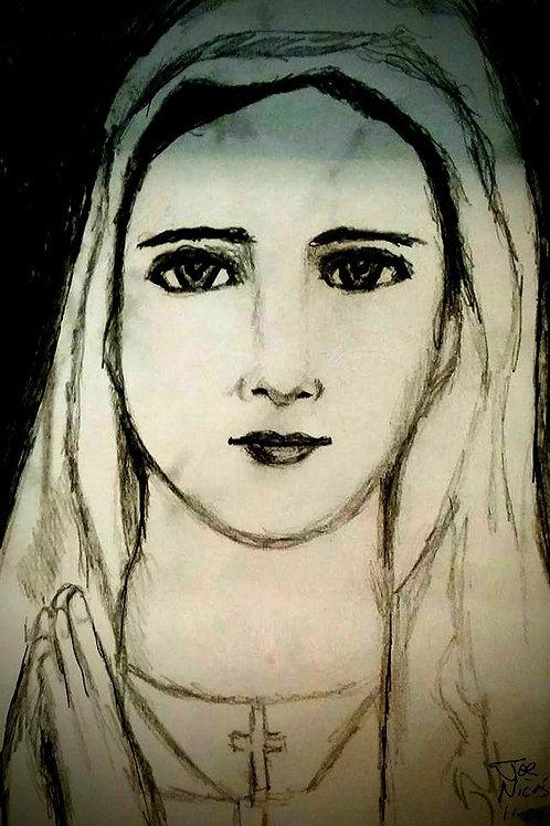 HOLY MARY, PRAY FOR US by Joe