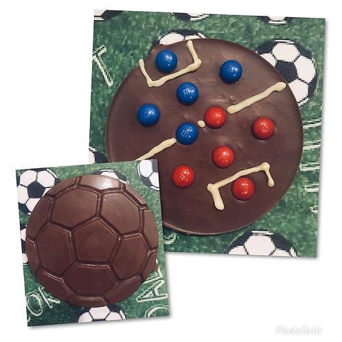 Chocolate football pitch