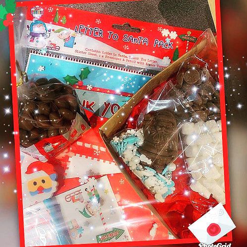 Choccy Letter to Santa kit