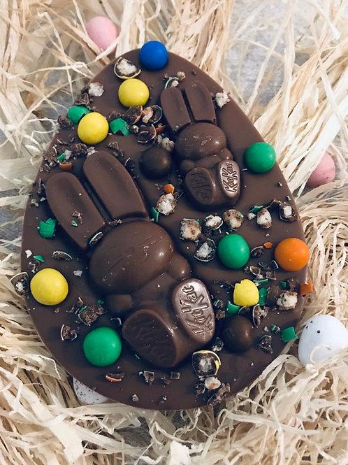 Kitkat bunny plaque