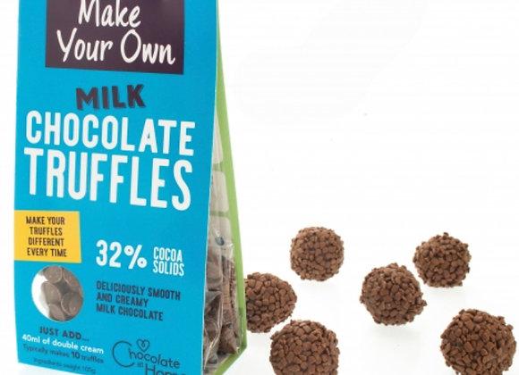Milk chocolate truffle kits