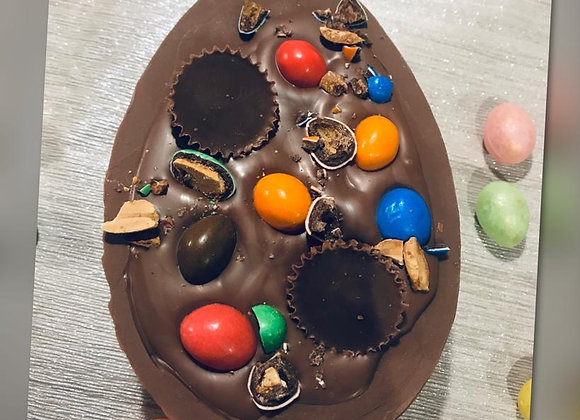 Nuts, Nuts & more Nuts filled Easter Egg