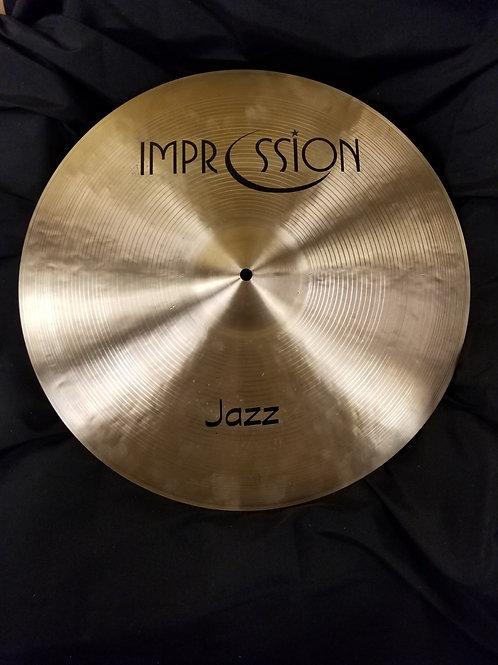 Impression Cymbals 19' Jazz Crash