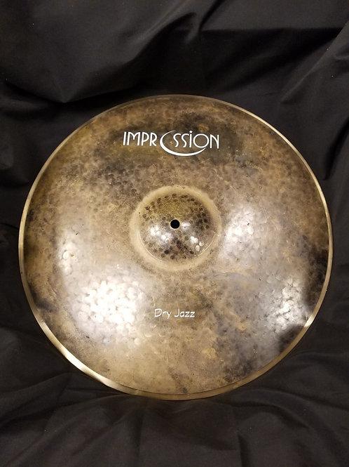 """Impression Cymbals Dry Jazz Crash 17"""""""