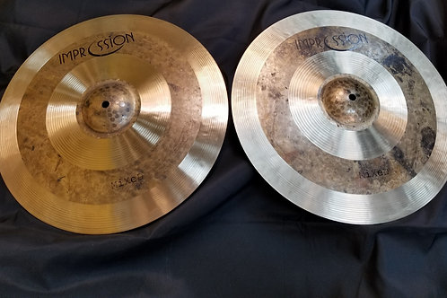 Impression Cymbals 16' Mixed Hi-Hats