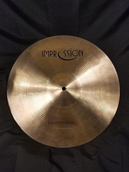 Impression Cymbals 15' Traditional Crash