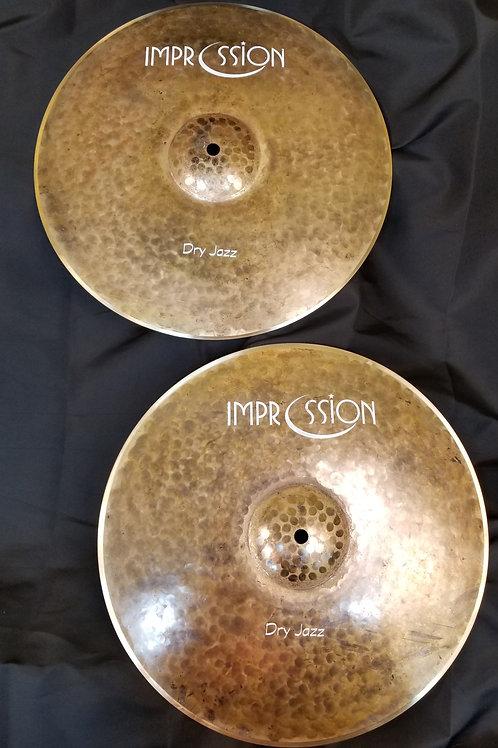 Impression Cymbals 14' Dry Jazz Hi-Hats