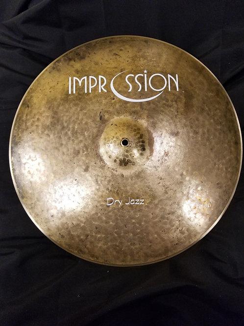 Impression Cymbals 20' Dry Jazz Ride