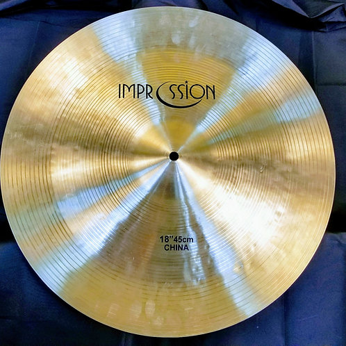 Impression Cymbals Traditional China 18""