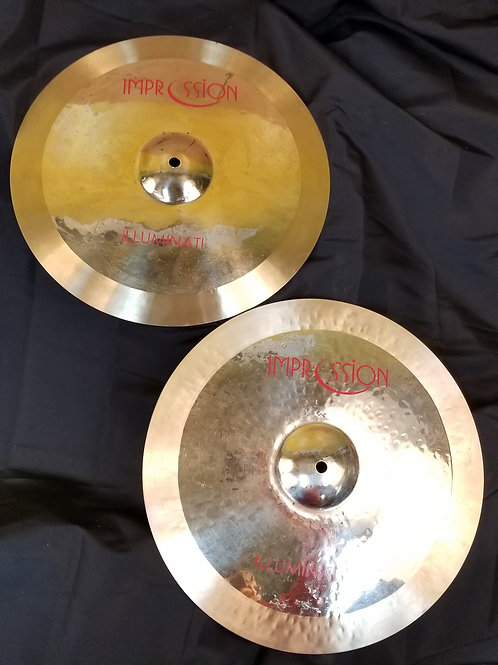 Impression Cymbals 15' Illuminati Series Hi-Hats