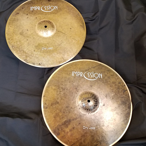 Impression Cymbals 16' Dry-Jazz Hi-Hats