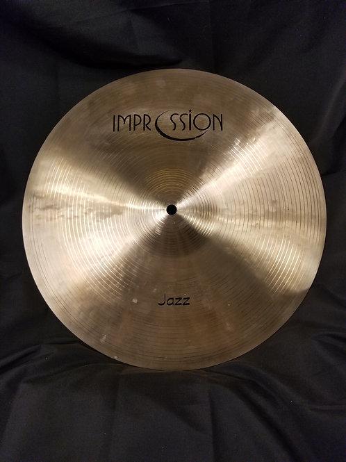 Impression Cymbals Jazz Crash 16'