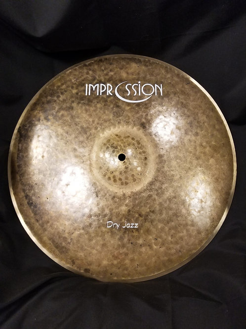 Impression Cymbals 17' Dry Jazz Crash Cymbal
