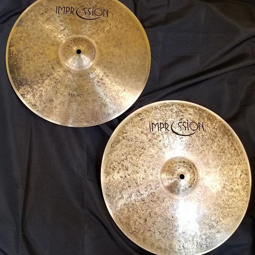 Impression Cymbals 14' Hard Hi-Hats
