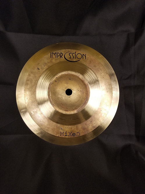 Impression Cymbals 8' Mixed Splash Cymbal