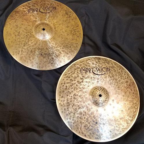 Impression Cymbals 15 X-Hard Hi-Hats
