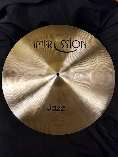 Impression Cymbals 20' Jazz Crash