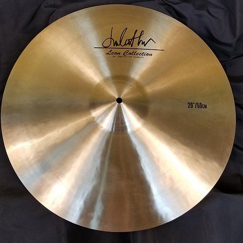 "Impression Cymbals 20"" Leon Collection Ride"