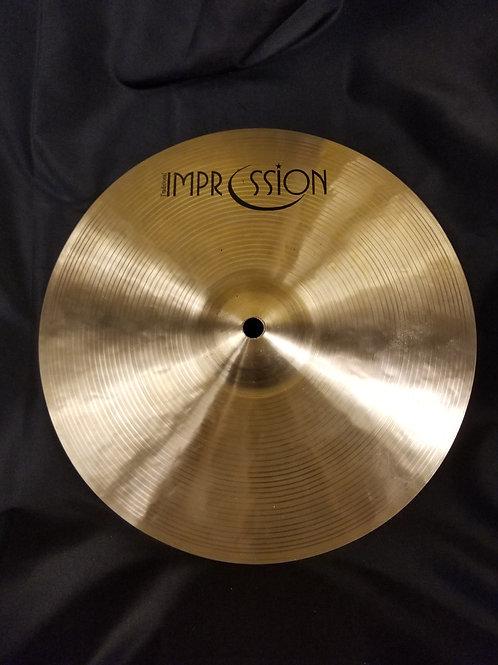 "Impression Cymbals Traditional Splash 11"""