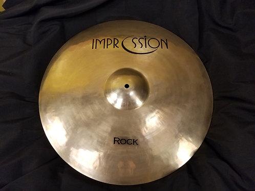 Impression Cymbals 20' Rock Crash