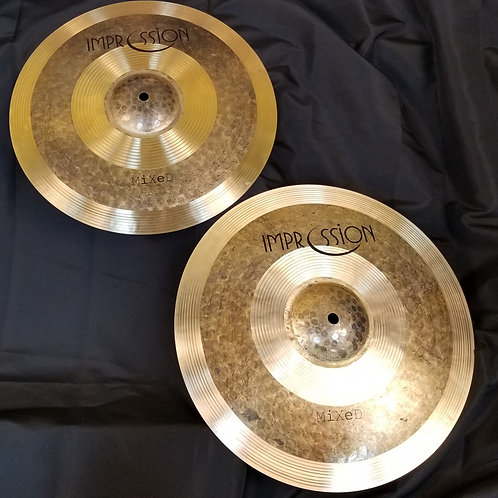 Impression Cymbals 14' Mixed Hi-hats