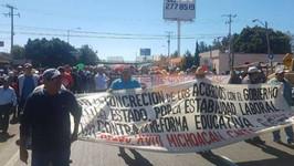 Condenamos la política represiva del gobierno de Silvano Aureoles
