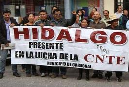 #CNTE #Hidalgo se suma a la movilización unitaria del 31 de enero