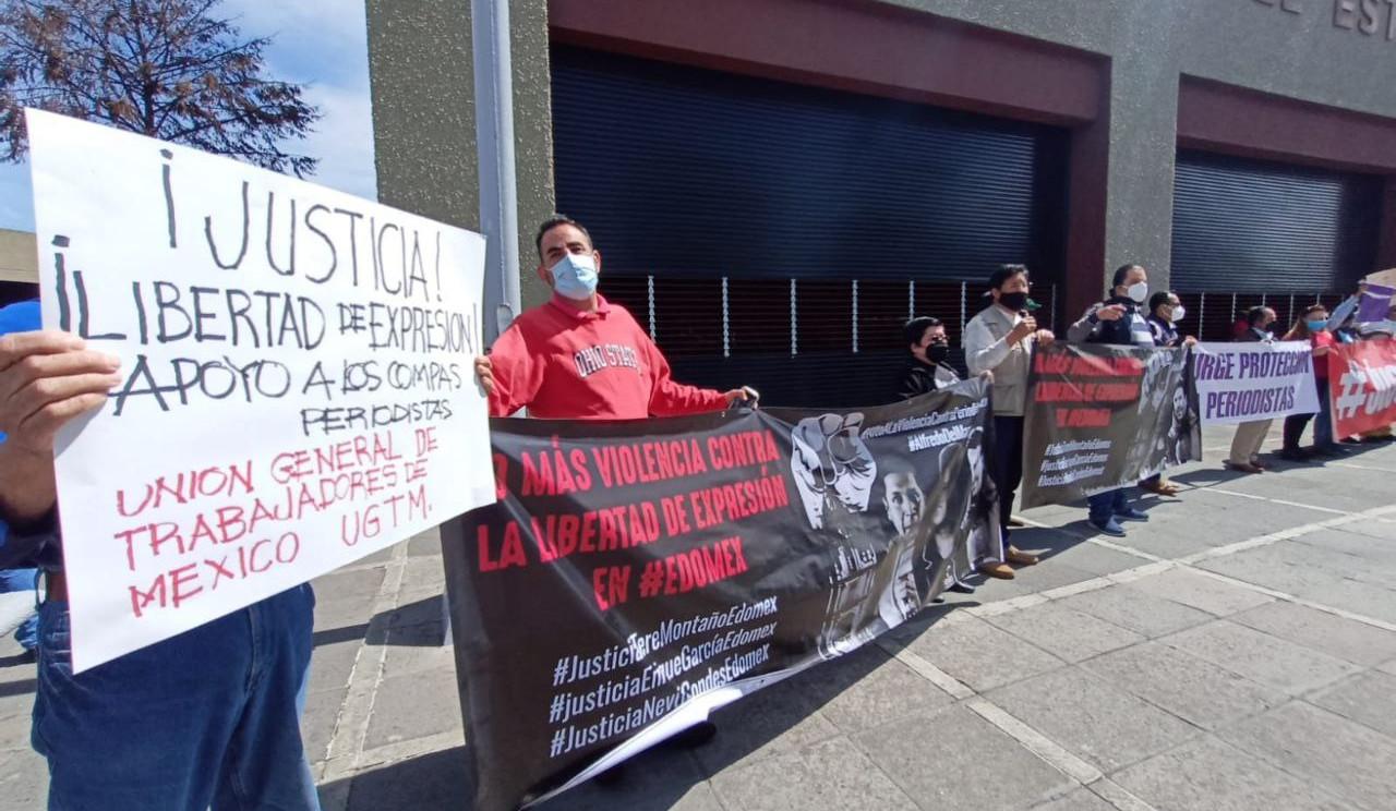 Solidaridad con periodista y el SUTNOTIMEX desde el EdoMex