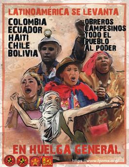 América Latina se levanta en huelga general
