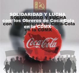 Obreros de Coca-Cola en el Valle de México a paro por violación al contrato colectivo