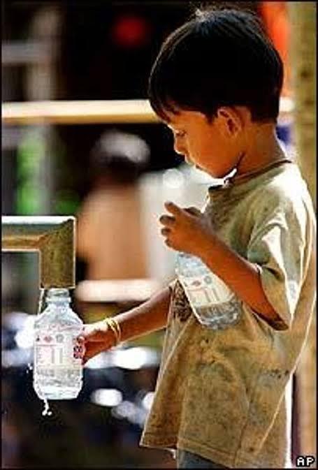 El agua como mercancía