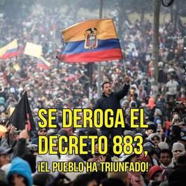 Los pueblos del Ecuador han obtenido una importante victoria
