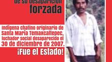 A 13 años de la desaparición forzada de Lauro Juárez