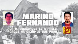 Libertad a Marino y Fernando Cruz