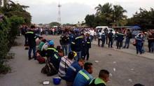 APOYO TOTAL A LA LUCHA DE LOS OBREROS EN PARO DE LA COMPAÑÍA CONTRATISTA WP EN LA CONSTRUCCIÓN DEL N