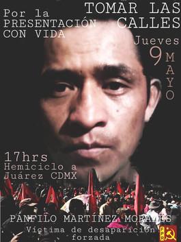 ¿En dónde está Pánfilo Martínez? Organizaciones Nacionales e Internacionales se pronuncian por desap
