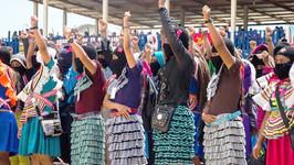 Las mujeres presentes en la lucha por la vida, la justicia y el trabajo