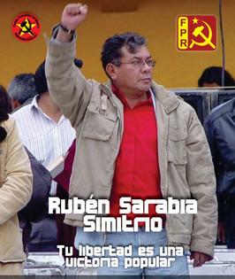 """La libertad de Rubén Sarabia """"Simitrio"""" es una victoria popular"""