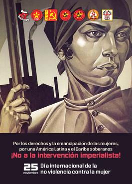 25 de noviembre. Dia internacional en contra de la violencia hacia las mujeres.