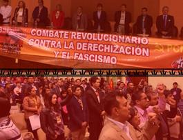 El combate revolucionario contra la derechización y el fascismo, es nuestro compromiso