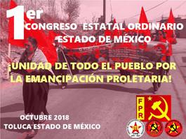 Levantemos las banderas rojas en el Estado de México