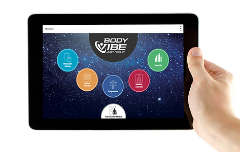 BodyVibe VisualCoach Vibrationsplatten Software