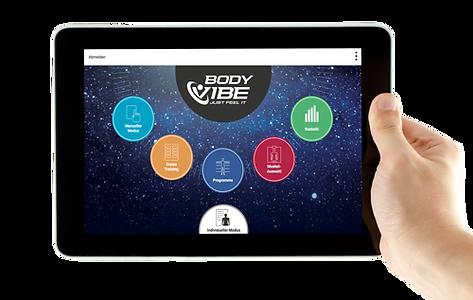 BodyVibe VisualCoach Vibrationsplatten Software