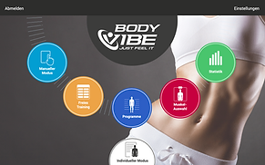 BodyVibe VisualCoach Startseite Farbe 2