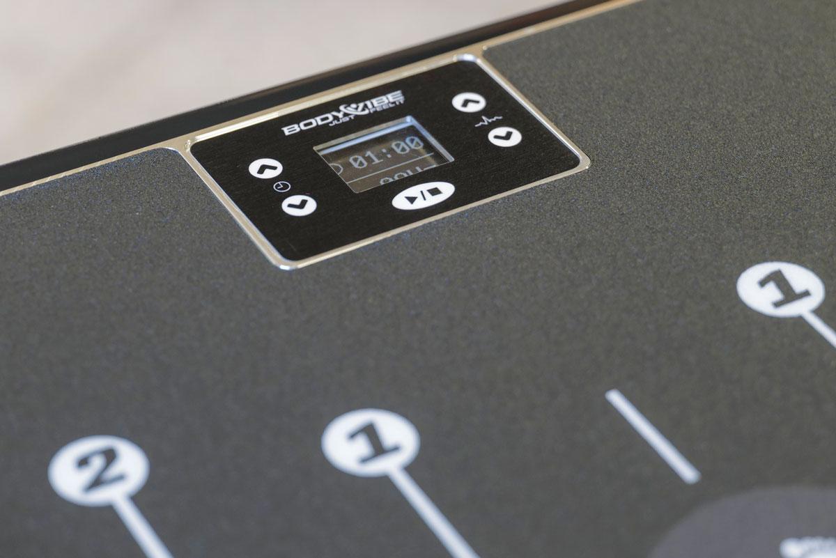 BodyVibe Intensity Displaysteuerung