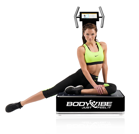 BodyVibe Ultimate Vibrationsplatte in schwarz
