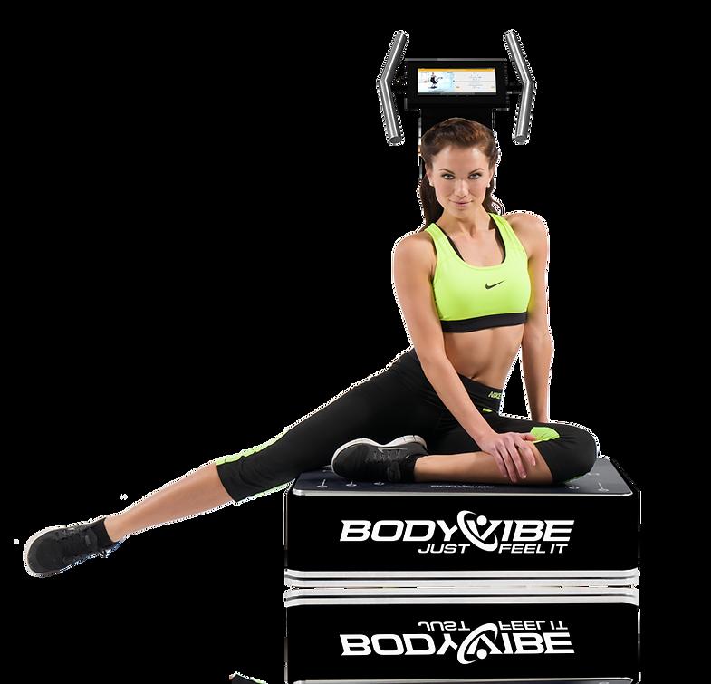 BodyVibe Ultimate Vibrationstrainer mit Edelstahlgriffen