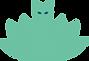 Logo de l'entreprise Felirvana - Chat et lotus vert