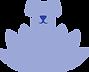 Logo de l'entreprise Canirvana - Chien et lotus bleu